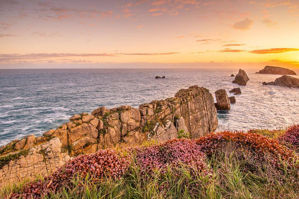 Küstenblick auf den Atlantik