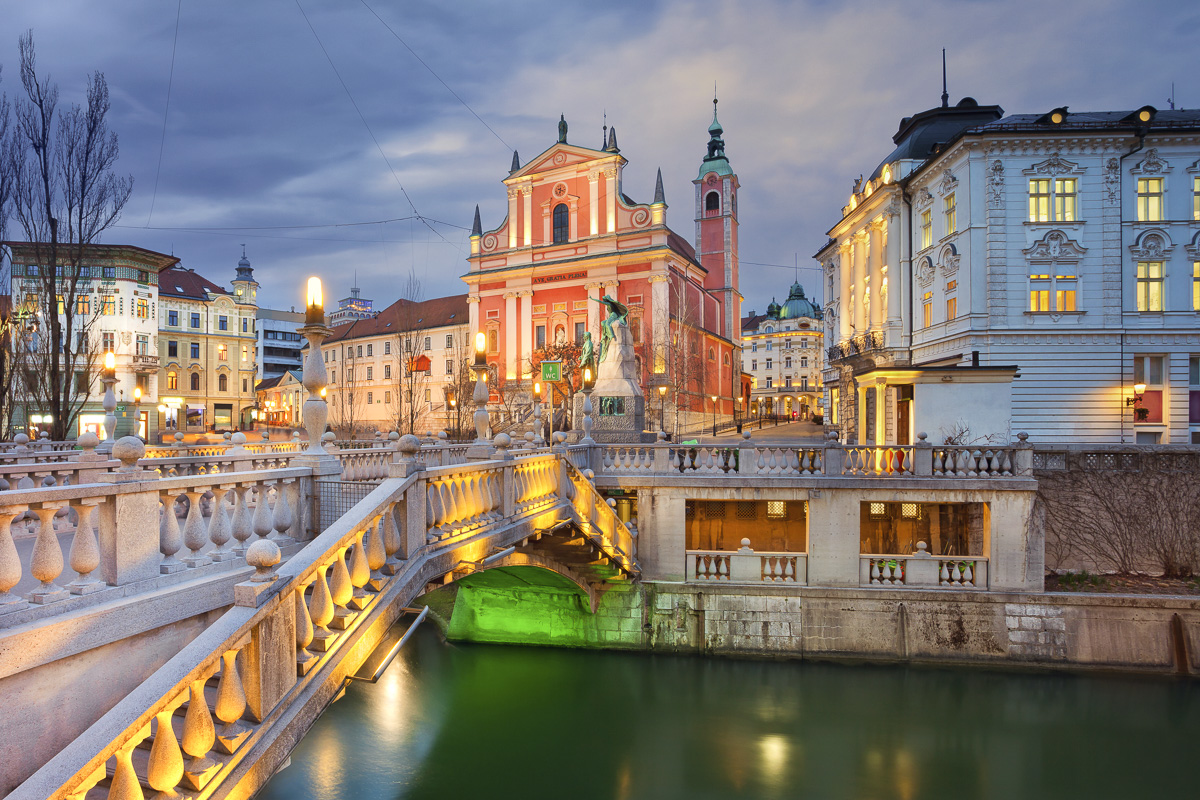 Hauptstadt Slowenien Ljubljana
