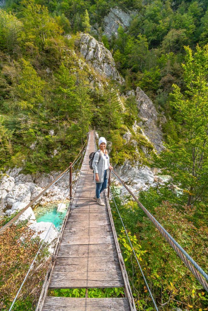 Soca Tal in Slowenien