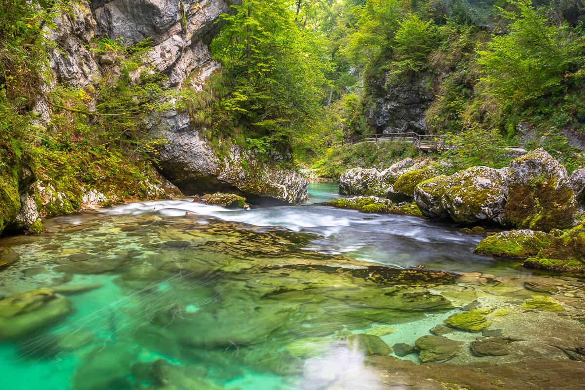 Vintgar Klamm in Slowenien